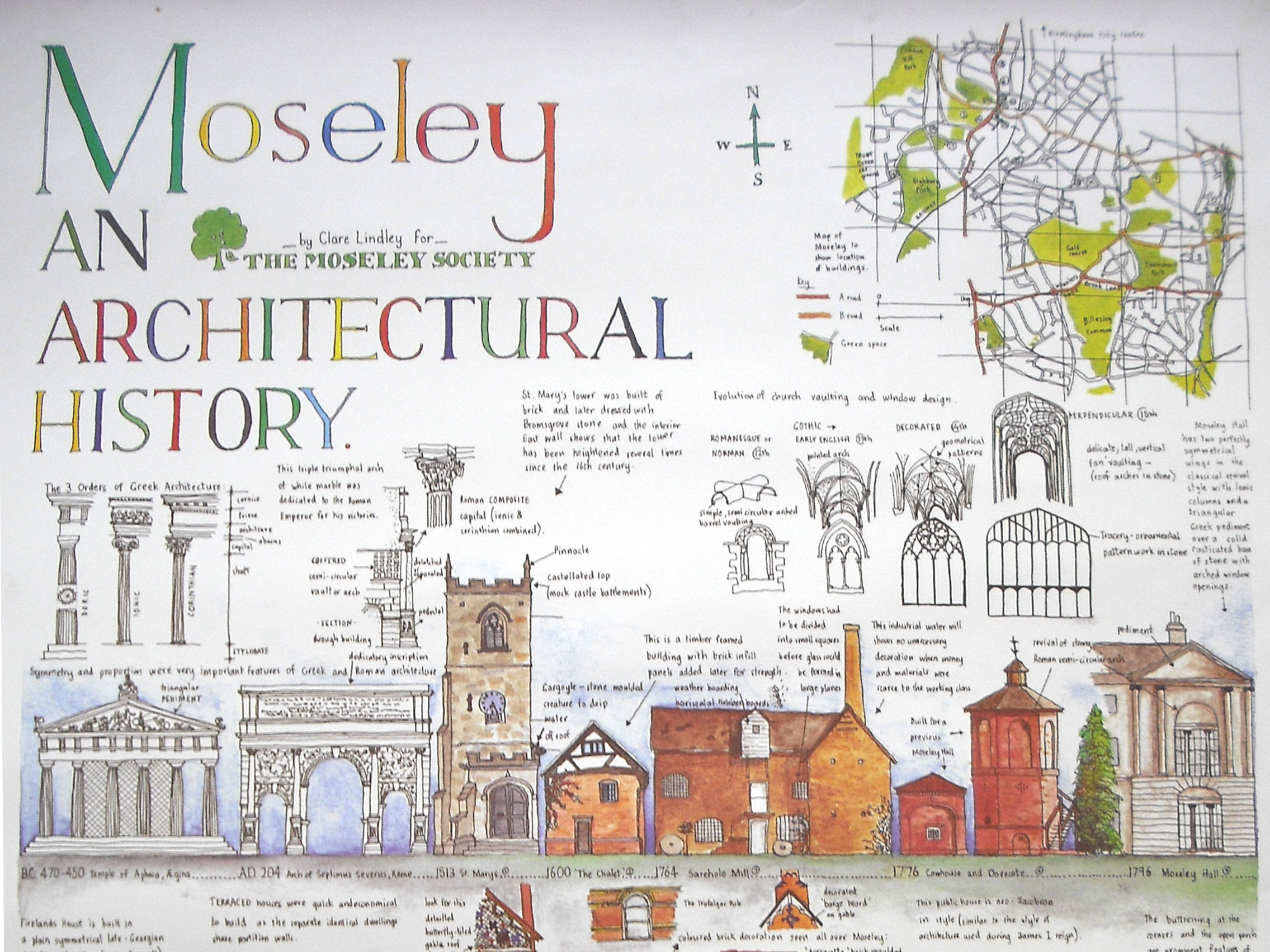 An Architectural History of Moseley – By Clare Lindley