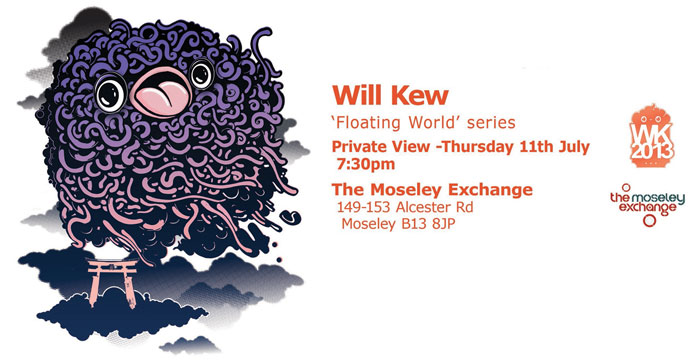 "Will Kew ""Floating World"" Series"