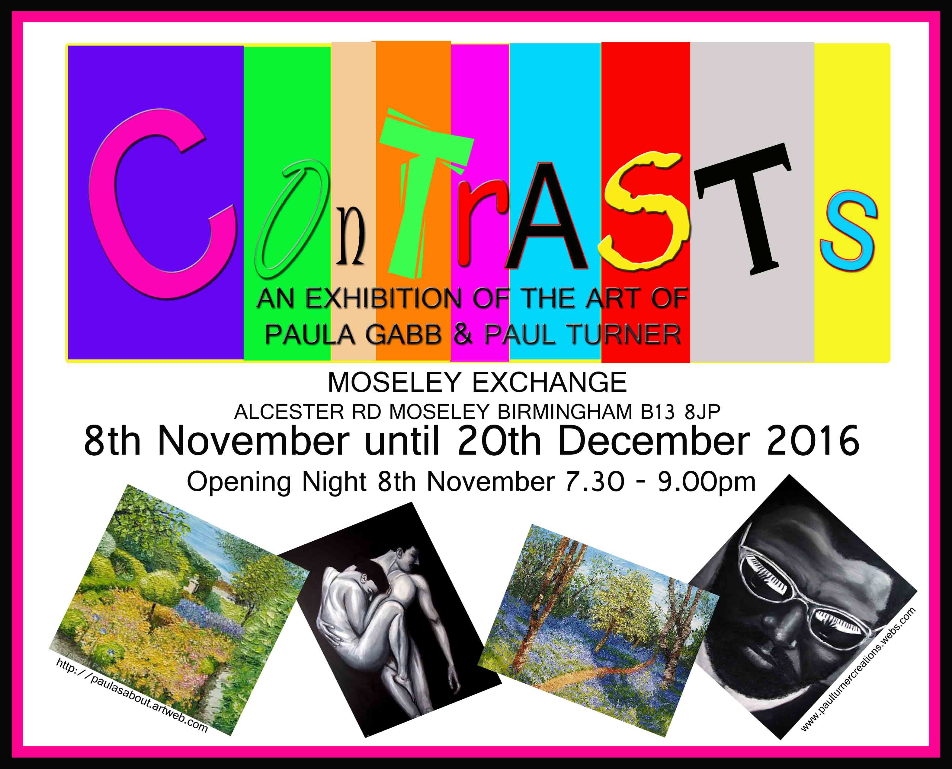 'CONTRASTS' Art Exhibition