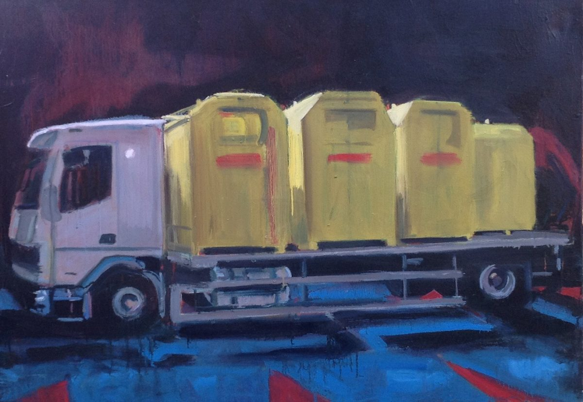 'Highway Anxiety'- Recent Paintings by Shaun Morris