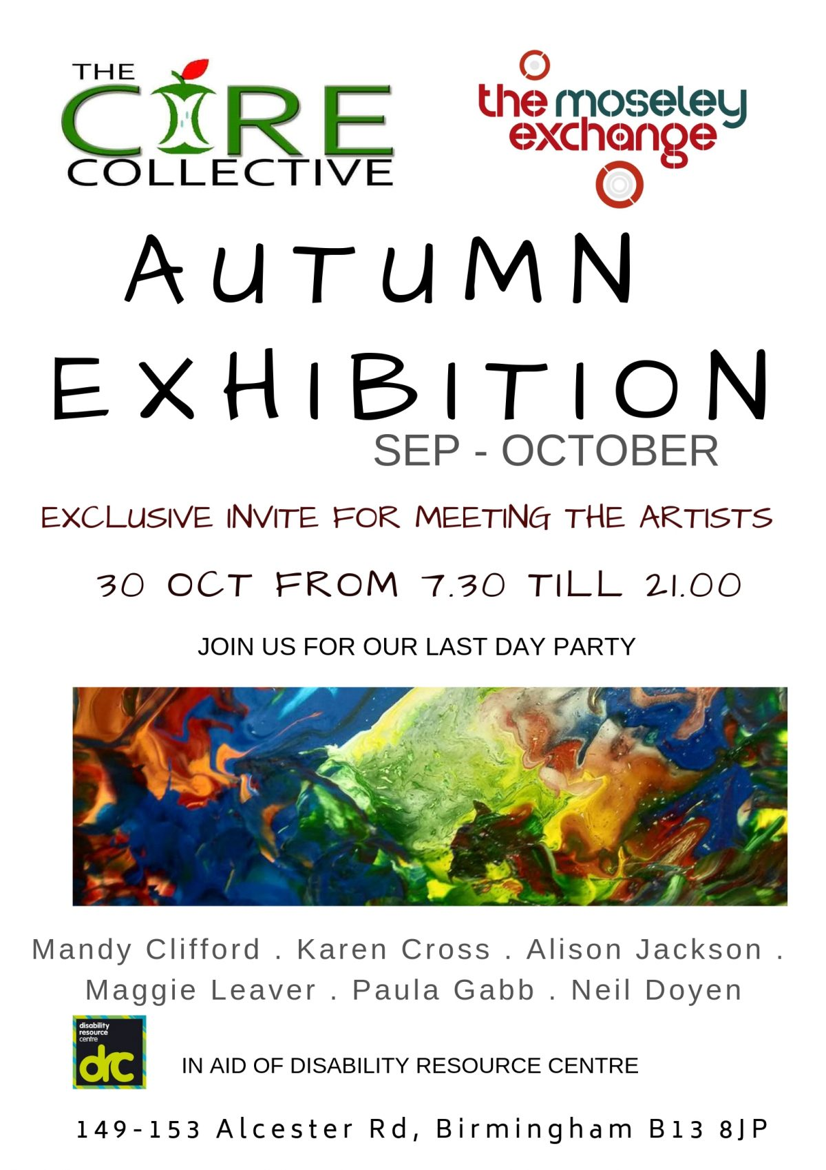 Core Collective Autumn Art Exhibition & Last Day Party